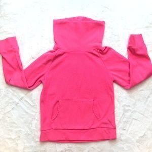 Old Navy Pink fleece turtleneck sweatshirt